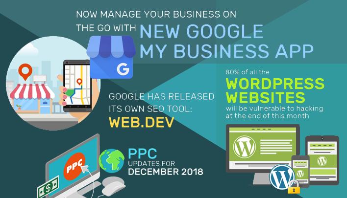 Online Marketing Updates - Dec 2018