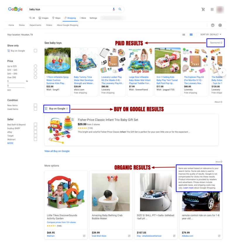'Google Shopping' Now Allows Listing Your Products For Free