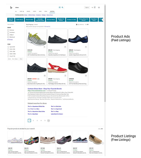 Free Product Listing Now Enabled In The Bing Shopping Tab